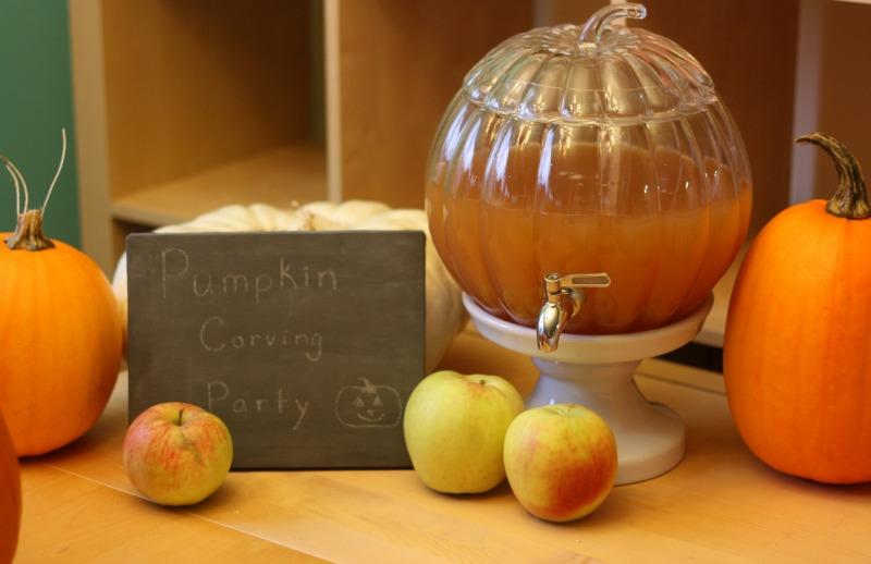 Pumpkin Drink Dispenser from Pottery Barn
