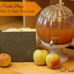 Sew Creative Blog's Apple Chai Cider Recipe