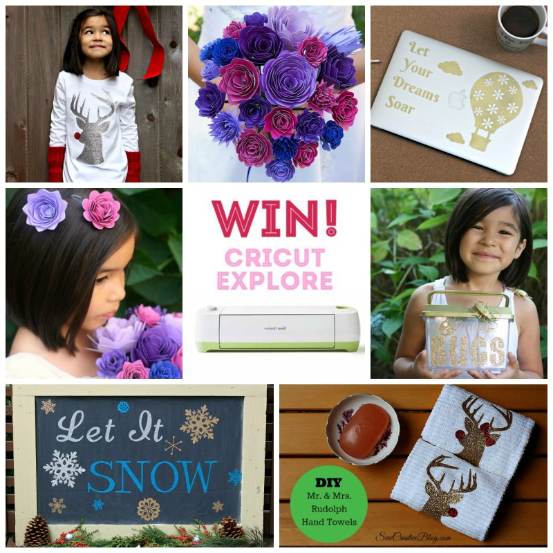 7 Cricut Explore Projects from Sew Creative for the Cricut Design Space Star Challenge
