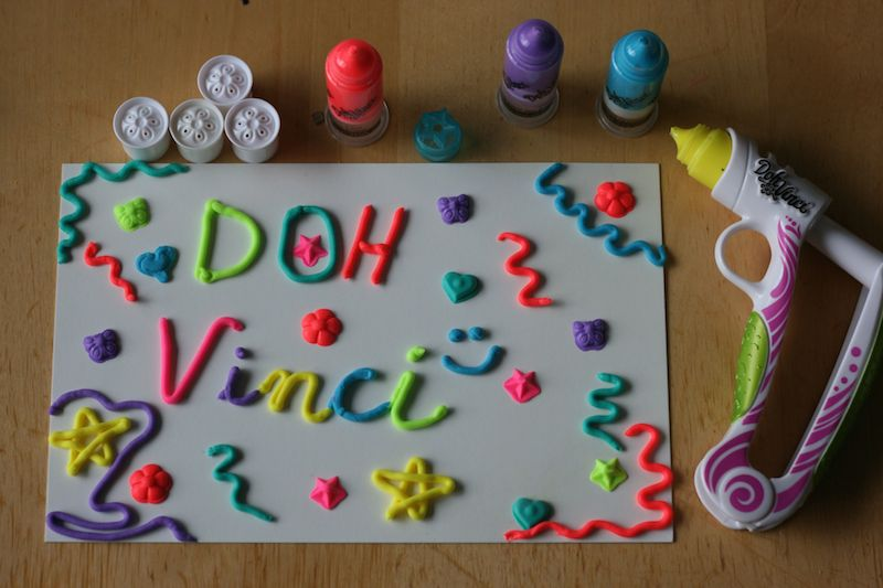 Favorite Things Friday- Doh Vinci & Play Doh plus a Giveaway 2
