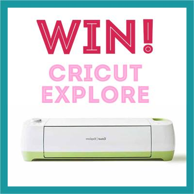 Win a Cricut Explore from Sew Creative Blog, the ultimate crafter Christmas gift!