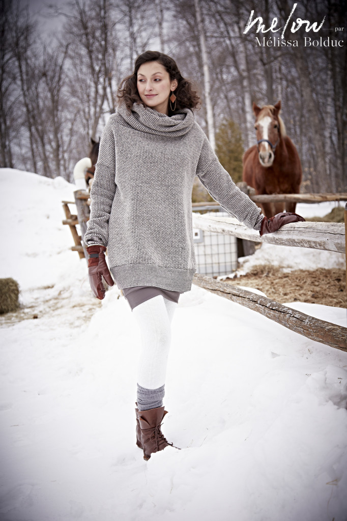 Nadege sweater and Nadine Skirt