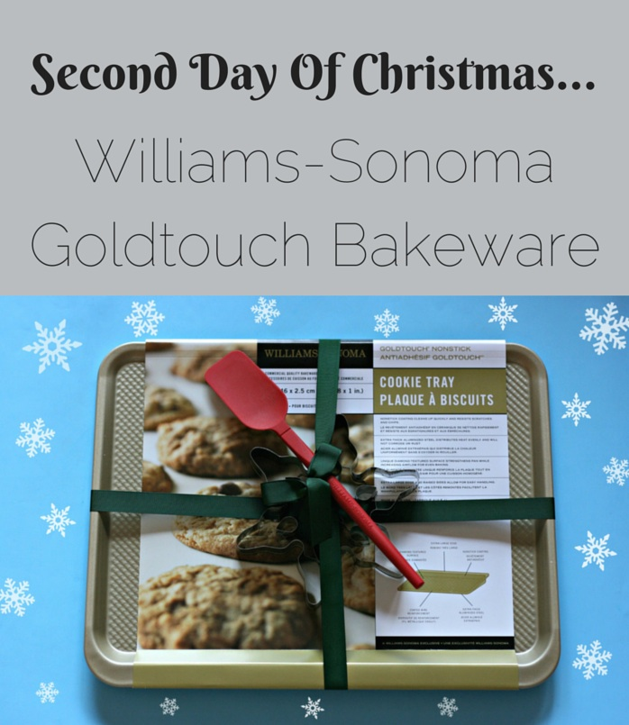 Creative Living Blogger Sew Creative shares her gift suggestions for those living a creative lifestyle. Day 2- Goldtouch Bakeware from Williams Sonoma