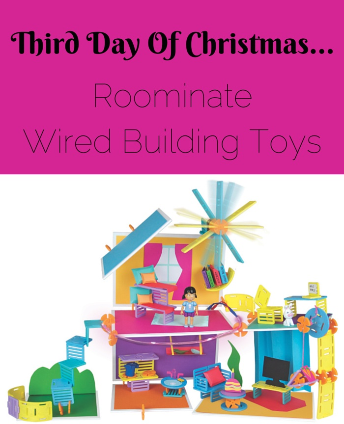 Creative Living Blogger Sew Creative shares her gift suggestions for those living a creative lifestyle. Day 3- Roominate Wired Building Toys