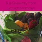 Sew Creative counts down teh days to Christmas with gift ideas for creatives. In this post she shares gifts for foodies Blendtec with a giveaway from Scratch Mommy