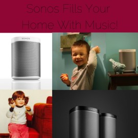 Eleventh Day of Christmas- Sonos Fills Your Home With Music!