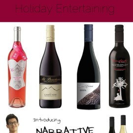 Sew Creative counts down the days to Christmas with gift ideas for creative people. Fifth Day of Christmas- 5 Fabulous BC Wines for Holiday Entertaining