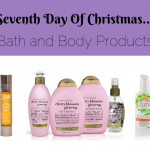 Seventh Day of Christmas gift ideas from Sew Creative. Bath and Body products from Organix, Saje and Ours by Cheryl Hickey