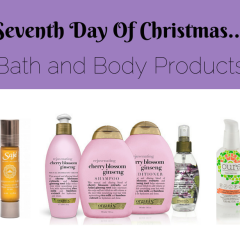 Seventh Day of Christmas- Bath and Body Products to Help You Relax and Get Creativity Flowing
