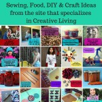 Sew Creative Blog 30 Handmade Gift Ideas- Sewing, Food, DIY & Craft Ideas from the site that specializes in Creative Living