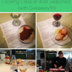 1st day of Christmas… Cooking Class at Well Seasoned (With Giveaway)
