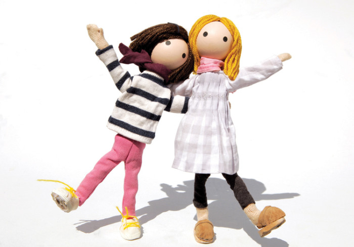 Robin and Judith, the creators of Windy and Friends