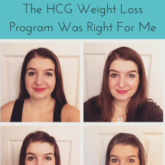 Why I Decided The HCG Weight Loss Program Was Right For Me & 2 Week Check In