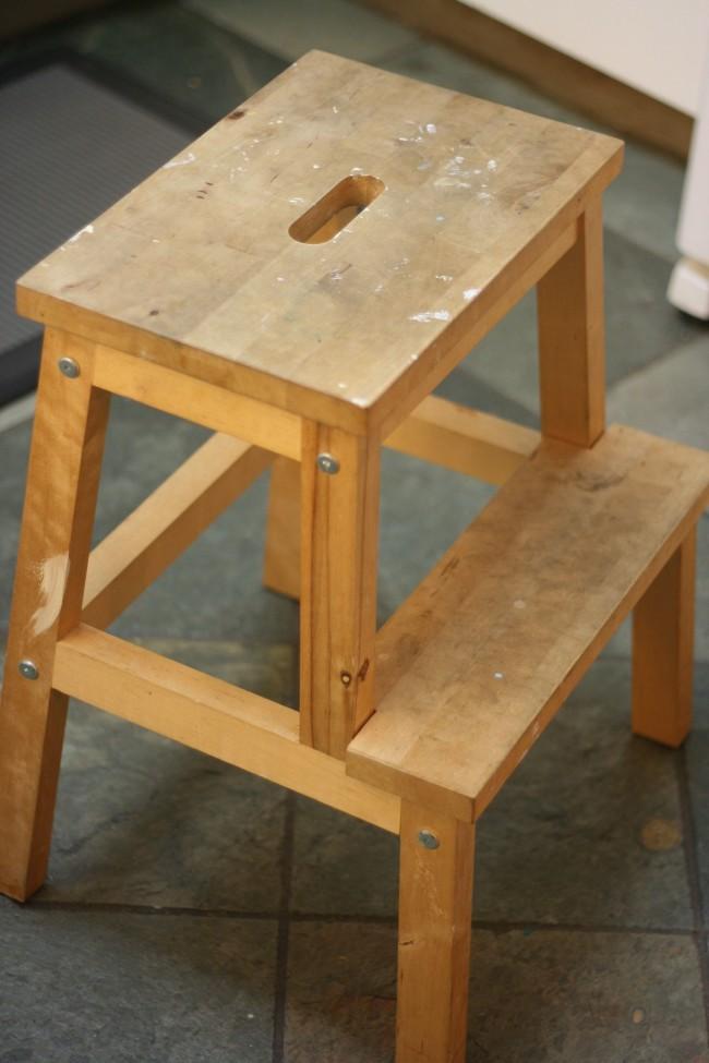 From drab to fab ikea bekvam stool makeover hello creative family - Ikea portaspezie bekvam ...
