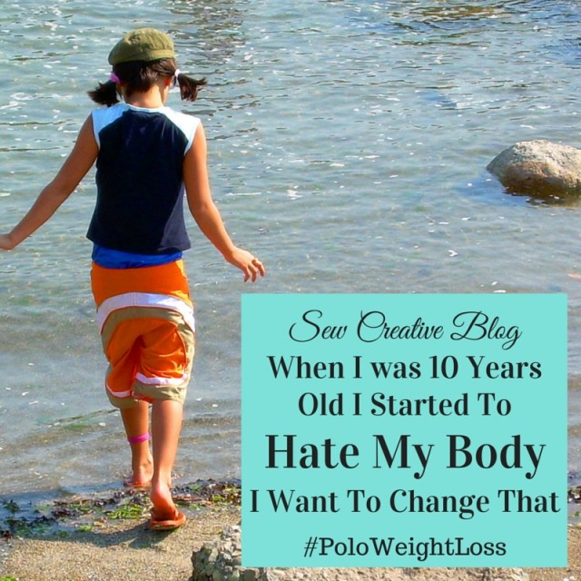 Crystal from Sew Creative shares about how she started to hate her body when she was 10 years old and how she hopes to change that.