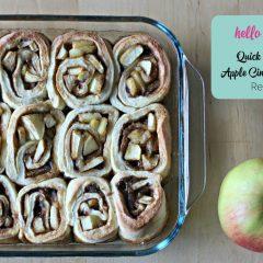 Quick and Easy Apple Cinnamon Roll Recipe