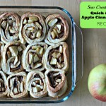 Looking for a warm and delicious weekend brunch Check out Sew Creative's Quick & Easy Apple Cinnamon Roll Recipe