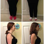 Crystal from Sew Creative Before and After Polo Weight Loss