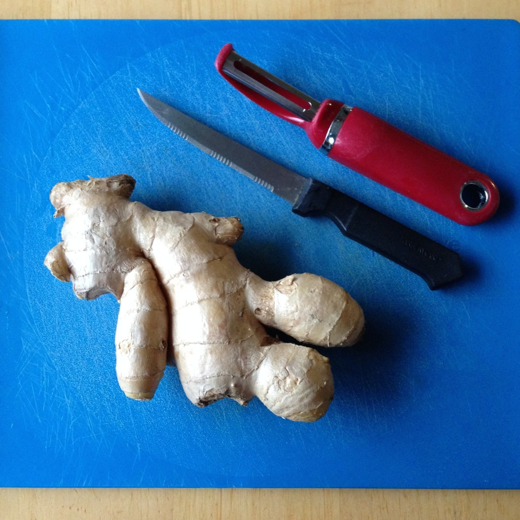 How to dehydrate ginger, materials needed