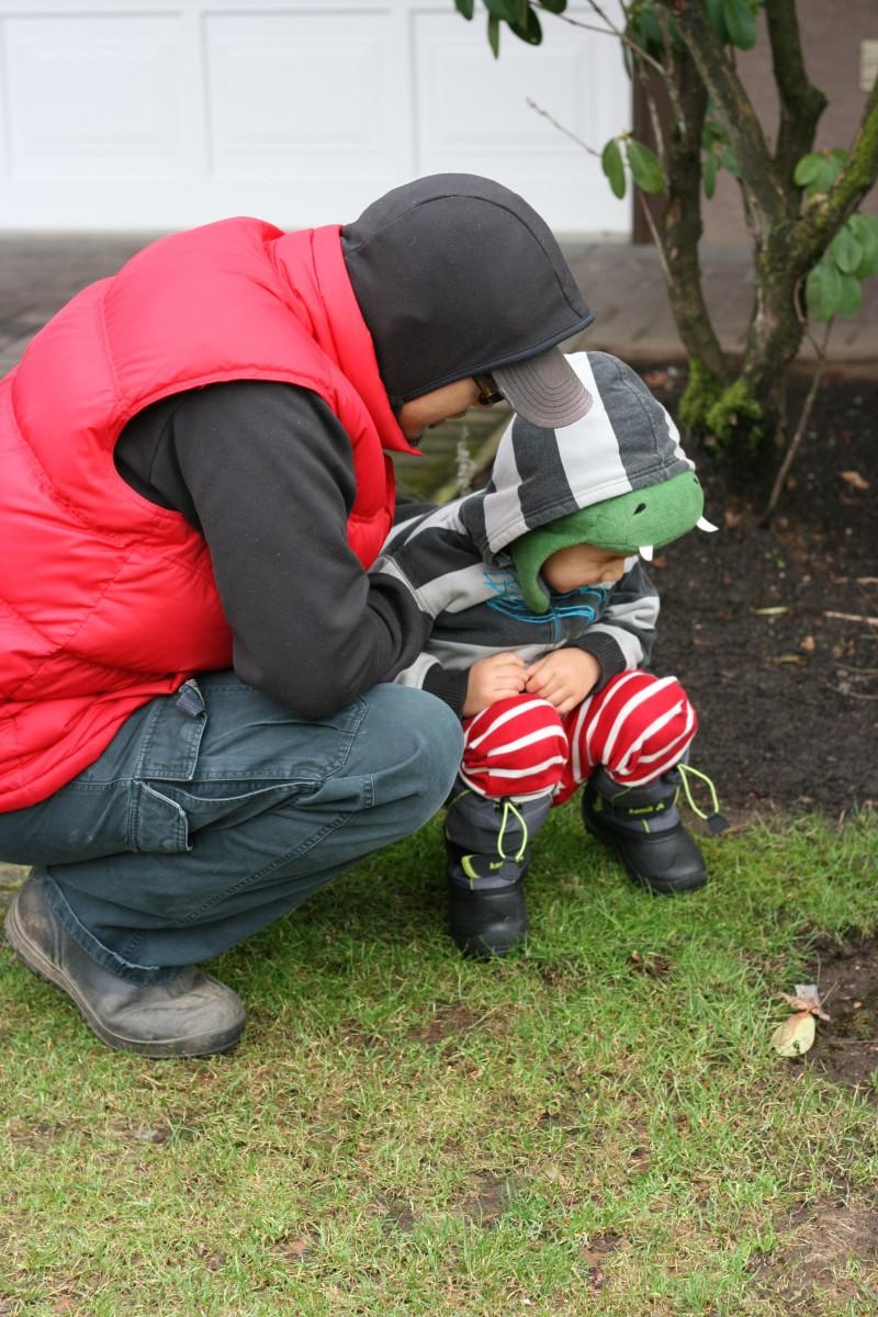 Toddler wearing Kamiks