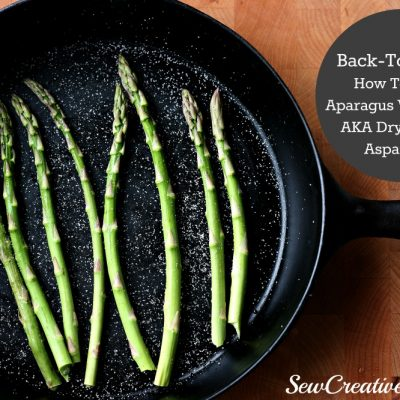Back-To-Basics: How To Roast Asparagus Without Oil AKA Dry Roasted Asparagus