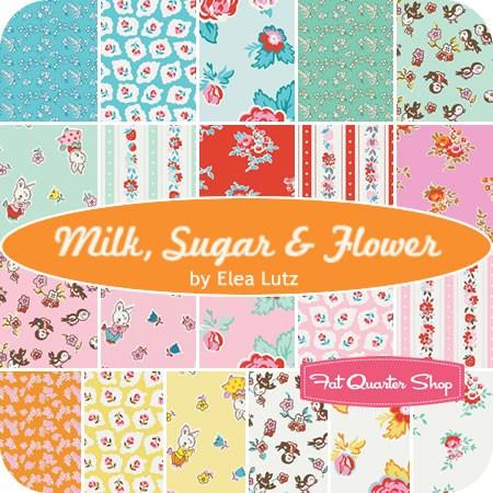 Milk Sugar & Flour Fat Quarter Bundle by Elea Lutz from The Fat Quarter Shop