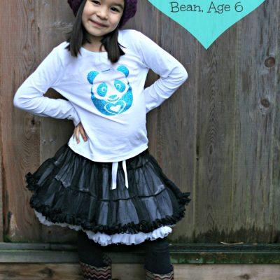 Mommy Monday- I Heart Handmade: Bean, Age 6
