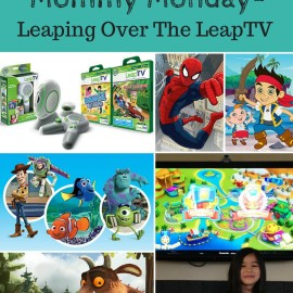Mommy Monday- Leaping over the LeapTV