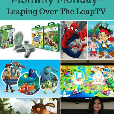 Mommy Monday- Leaping for LeapTV