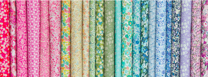 Liberty Fabrics in Sew Pretty For Little Girls