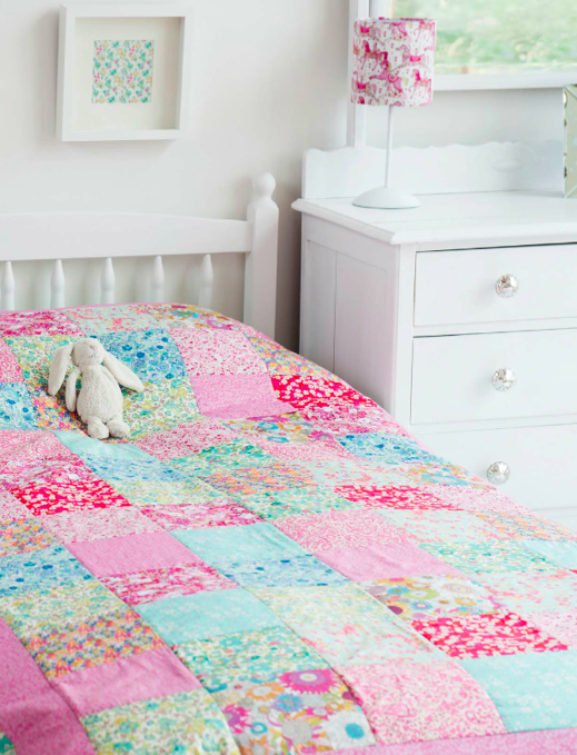 Sew Pretty For Little Girls Quilt