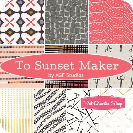 To Sunset Maker by Art Gallery Fabric Studio from Fat Quarter Shop