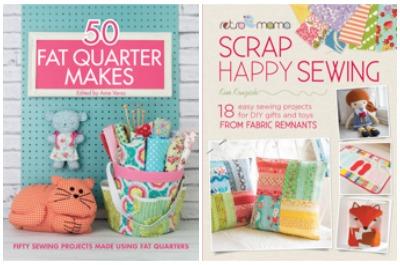 50 Fat Quarter Makes & Retro Mama Scrap Happy Sewing
