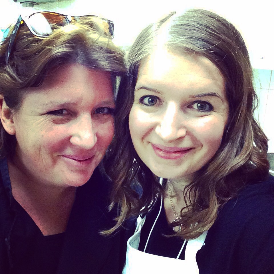 Crystal from Hello Creative Family with Chef Lynn Crawford