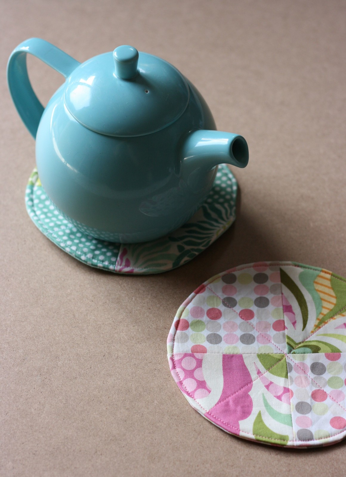 Fabric Scrap Teacup Coaster A Fabulous 30 Minute Sewing Project To Use Up Fabric Scraps