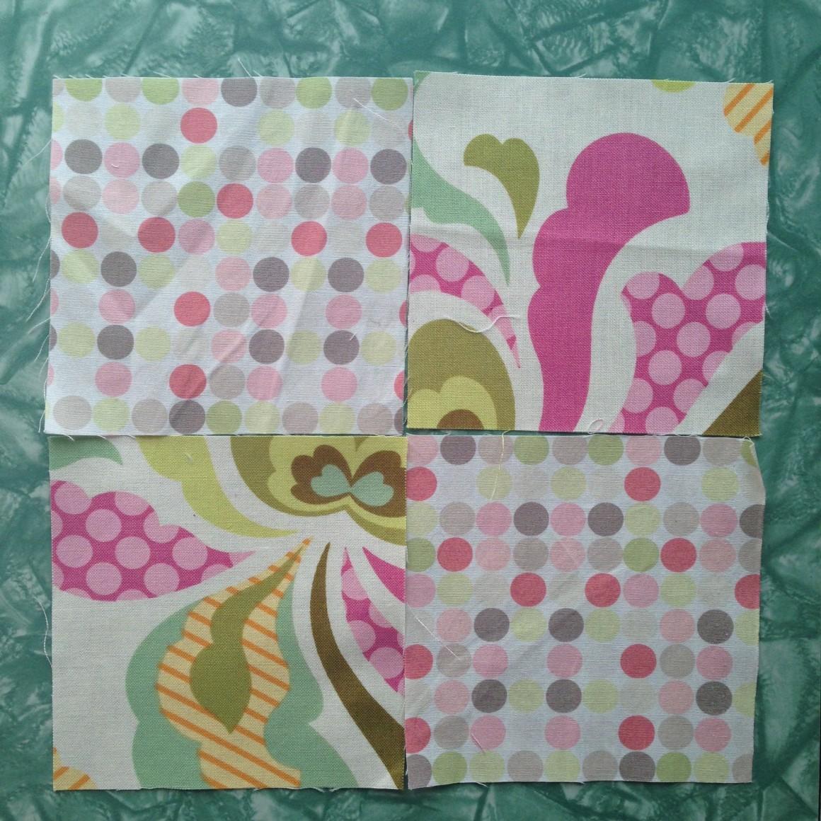 Fabric Scrap Teapot Cozy Tutorial Step 2