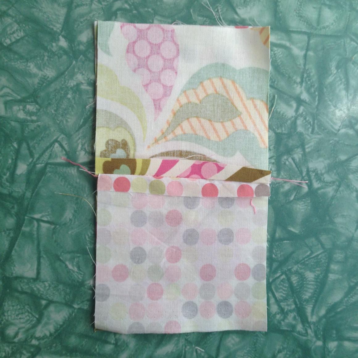Fabric Scrap Teapot Cozy Tutorial Step 4