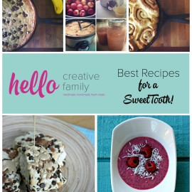 Hello Creative Family Best Recipes for a Sweet Tooth