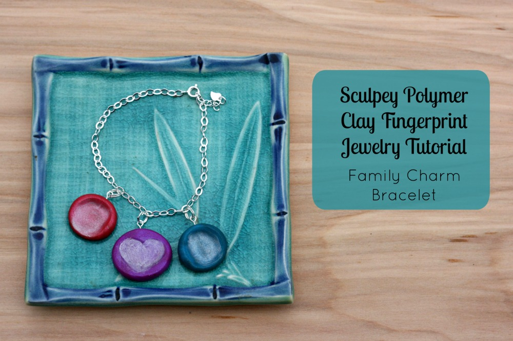 Polymer clay fingerprint jewelry tutorial family charm bracelet hello creative familys sculpey polymer clay fingerprint jewelry tutorial family charm bracelet a great aloadofball Image collections
