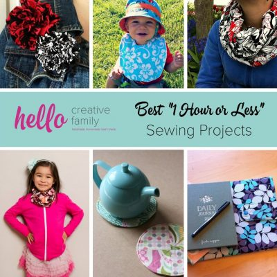 The Best Sewing Projects For Beginners + Win $50 from Fat Quarter Shop