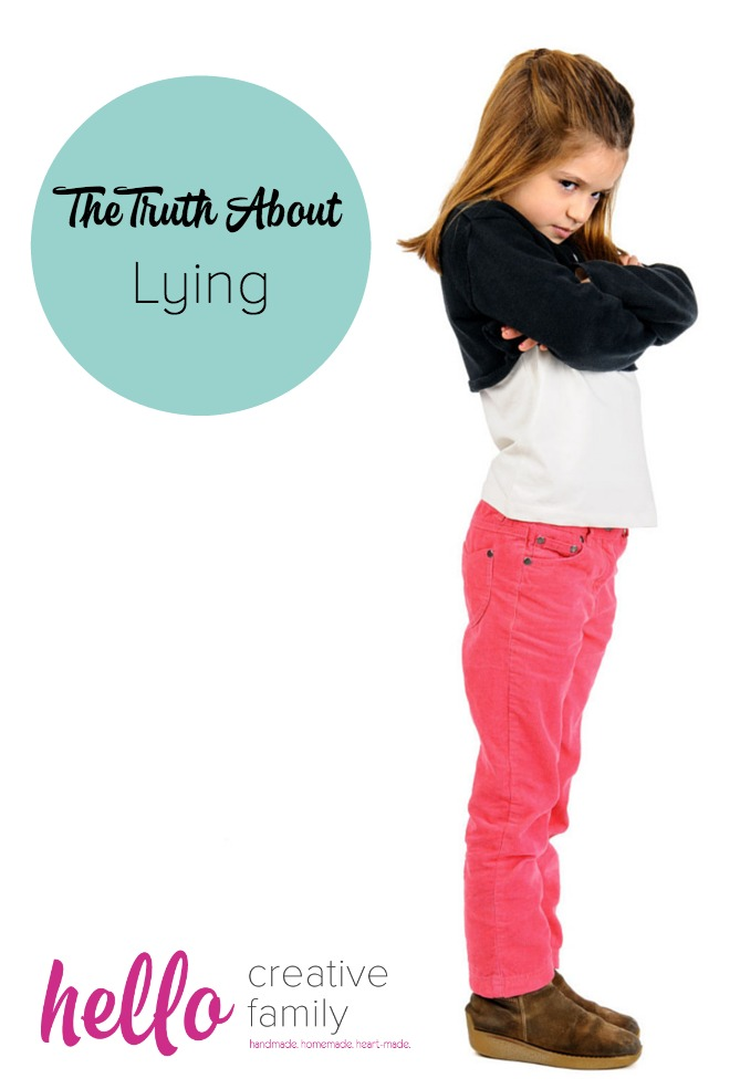 The Truth About Lying on HelloCreativeFamily.com. One parent's look at lying and kids.