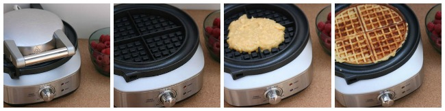 Breville No Mess Waffle Maker on Hello Creative Family