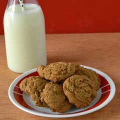 HCF Featured Recipe of the Week- Ginger Cookie Recipe from Fearlessly Creative Mammas