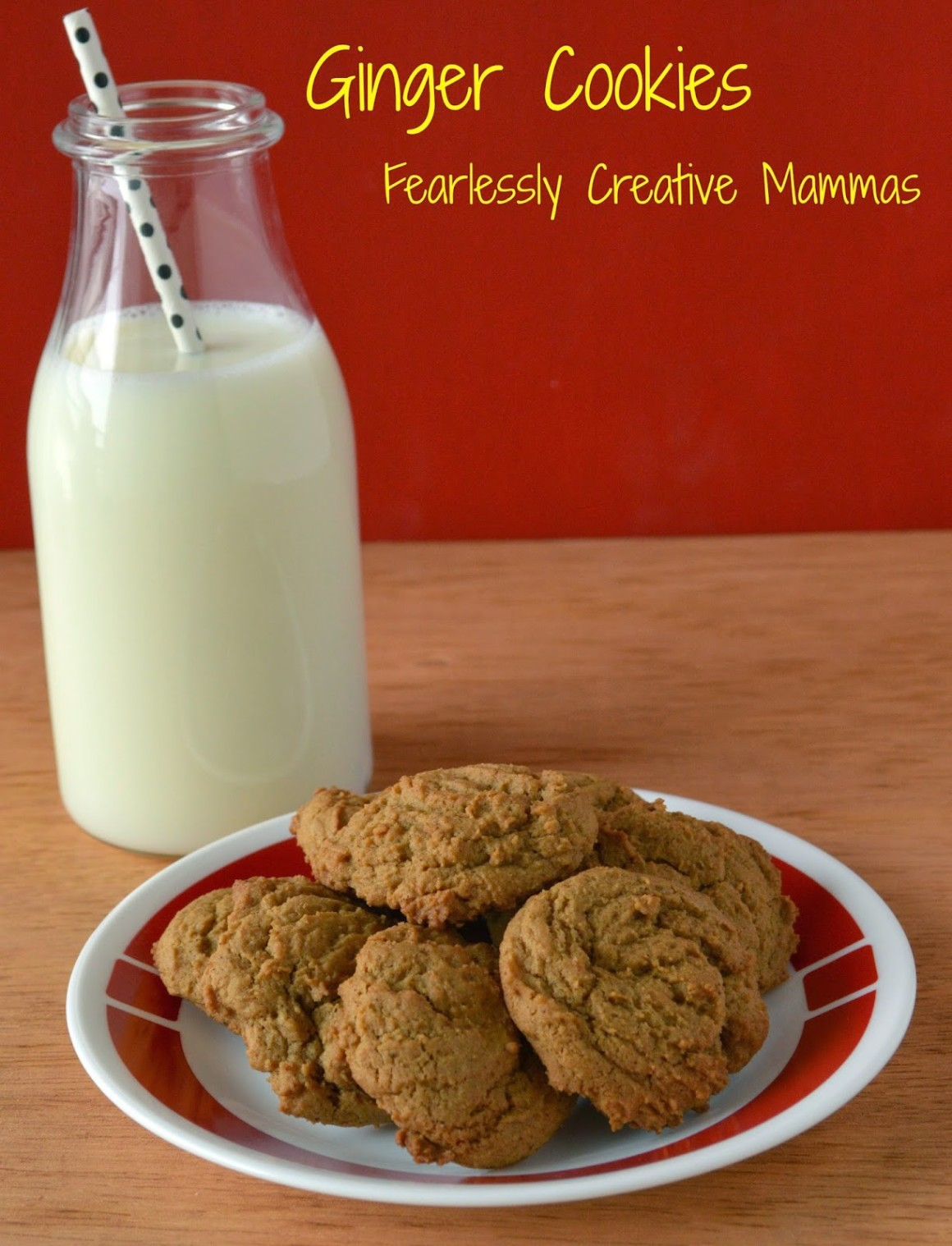 This ginger cookie recipe was developed as a cure for morning sickness during pregnancy. Sweet and ginger they cook up thick and fluffy. You'll love them.