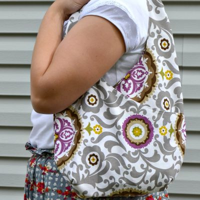 HCF Featured Craft of the Week- Easy Criss Cross Purse Sewing Project from The Princess and Her Cowboys