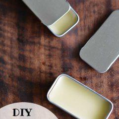 DIY Honey Lip Balm Recipe- HCF DIY of the Week