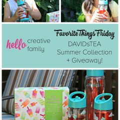 Favorite Things Friday- DAVIDsTEA Summer Collection Giveaway!