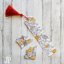 Learn how to make bookmarks two ways! Create corner bookmarks and traditional tassle bookmarks with this helpful tutorial.