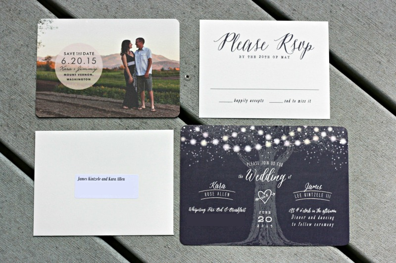 Woodland Forest Themed Wedding Invitation And Save The Date From Minted