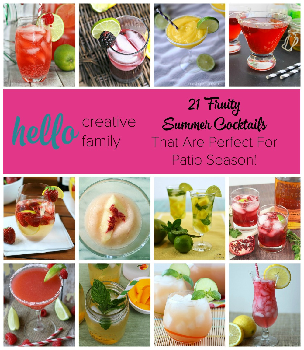 21 Fruity Summer Cocktails That Are Perfect For Patio Season
